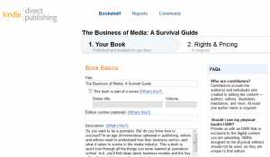KindleDirectPublishing | Guide Self Publishing e scrittura online - Storia Continua