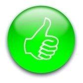 pulsante-verde-brillante-con-un-pollice-alzato