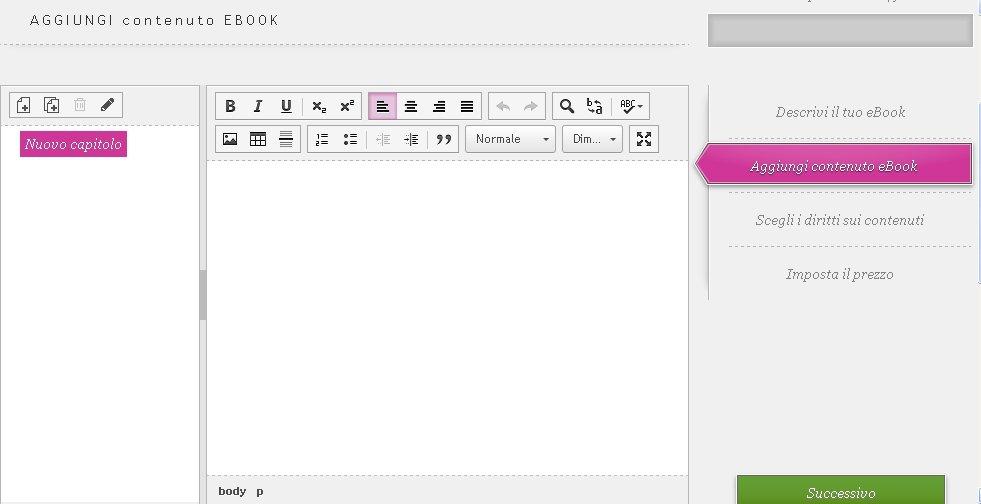 come scrivere un ebook con Kobo