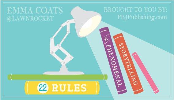 22 rules storytelling topl | Guide Self Publishing e scrittura online - Storia Continua