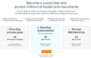 Scribd-subscriber