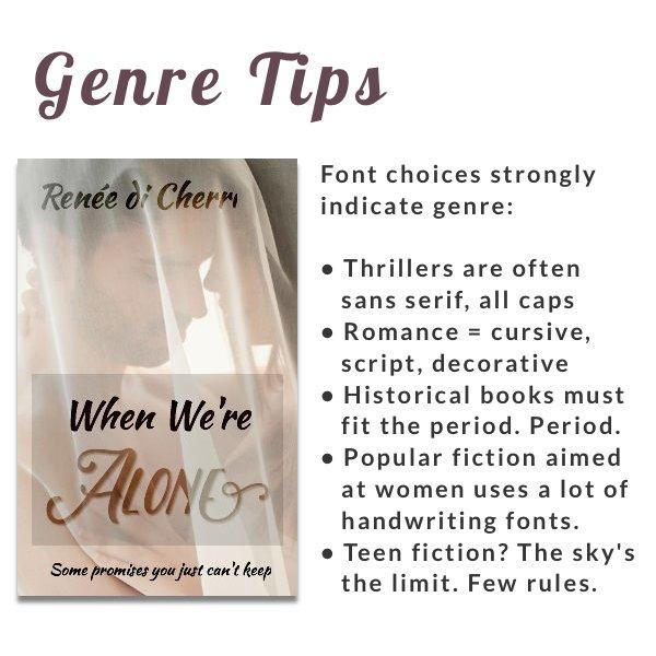 consigli per creare copertine per libri di genere