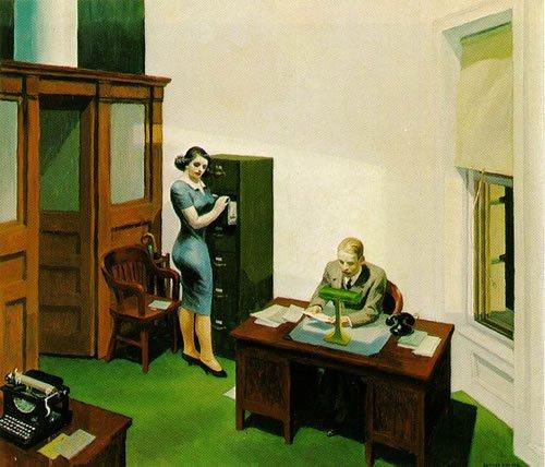 HopperOfficeatNight   Guide Self Publishing e scrittura online - Storia Continua