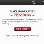 PressBooks-simple-book-production