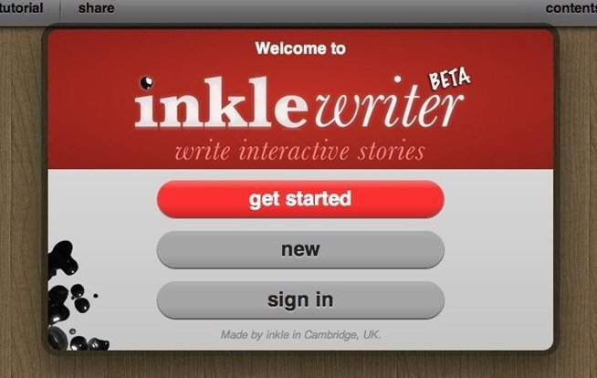 inklewriter lets you write and share your own choose your own adventure books.w654 | Guide Self Publishing e scrittura online - Storia Continua