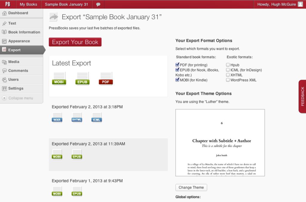 vendere ebook con Pressbooks