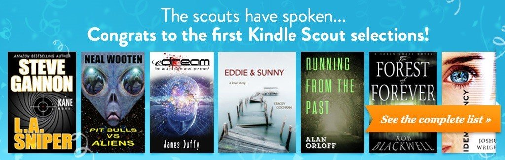 Kindle Scout selections