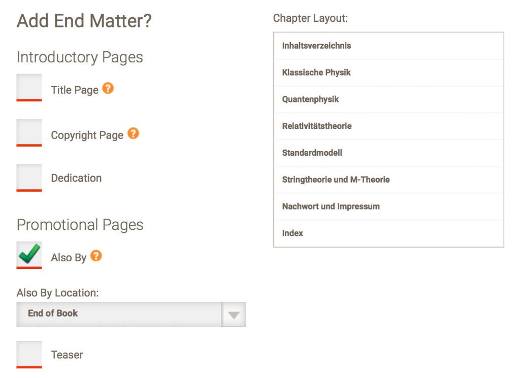 conversione ebook su Draft2digital