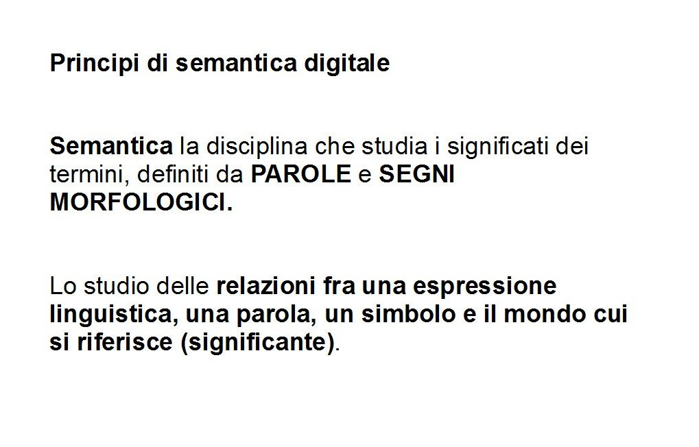 Semantica Digitale