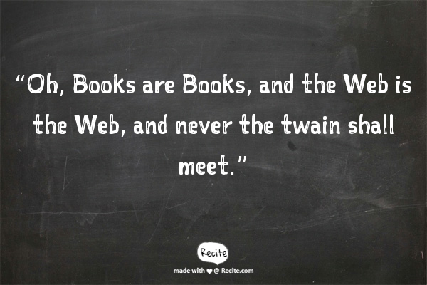 Book vs Web