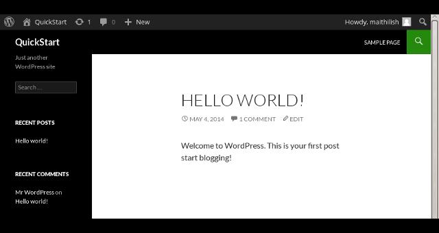 wp helloworld | Guide Self Publishing e scrittura online - Storia Continua