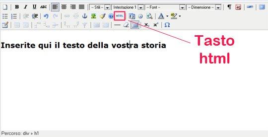 tastohtml | Guide Self Publishing e scrittura online - Storia Continua