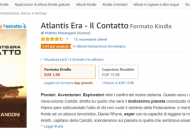 Pagina di vendita Amazon dell'ebook Atlantis Era