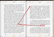 Esempio di pagina con le note su iPad