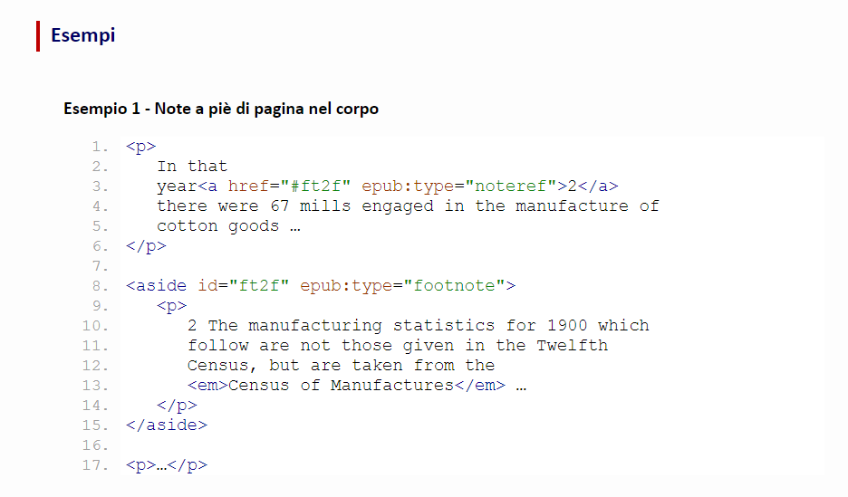 codice di esempio per inserire note in ebook ePub3