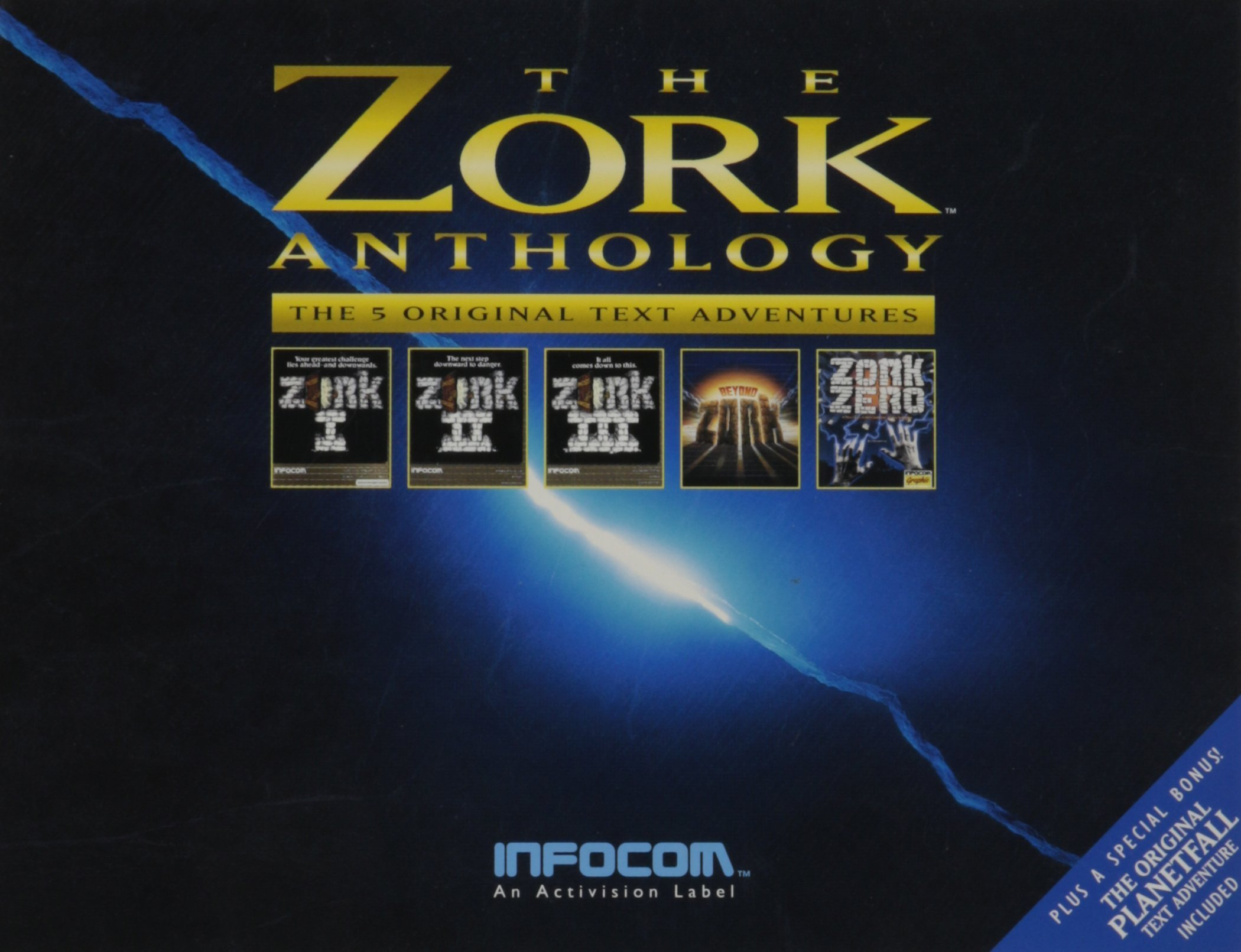 copertina dell'avventura testuale pubblicata da Infocom