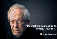 E.Leonard on writing dialogue