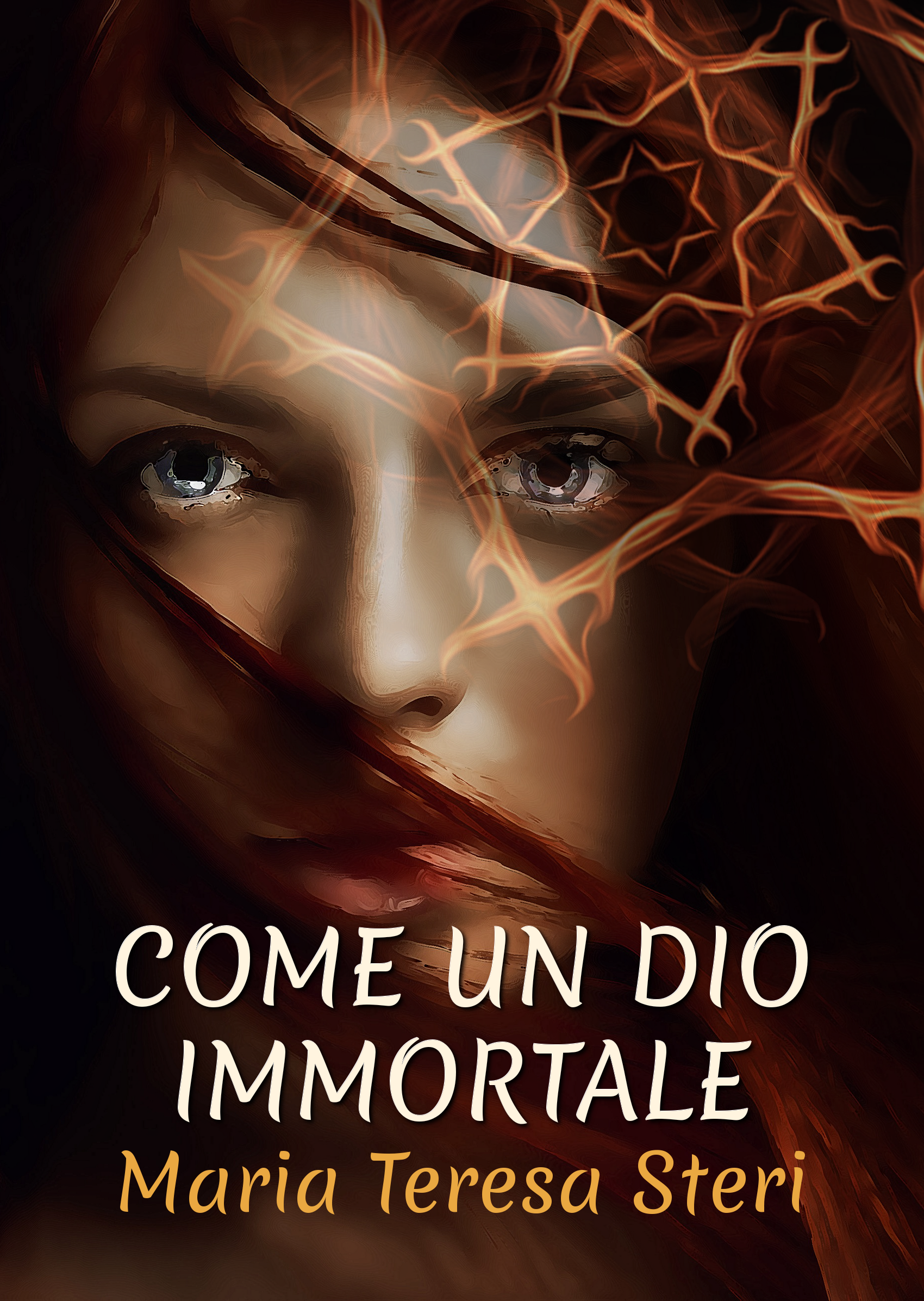 come un dio immortale cover | Guide Self Publishing e scrittura online - Storia Continua