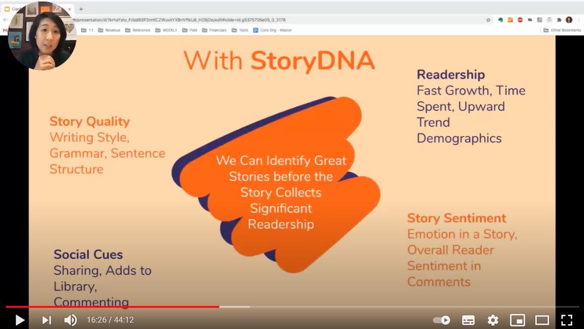 Wattpad spiega StoryDNA